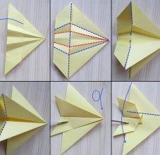 Самолетик-оригами 3