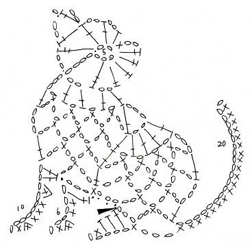 Вязаные миниатюры милых животных