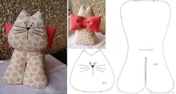 Шьем простых кошек