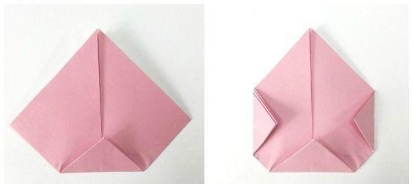 Веселые вороны в технике оригами 4