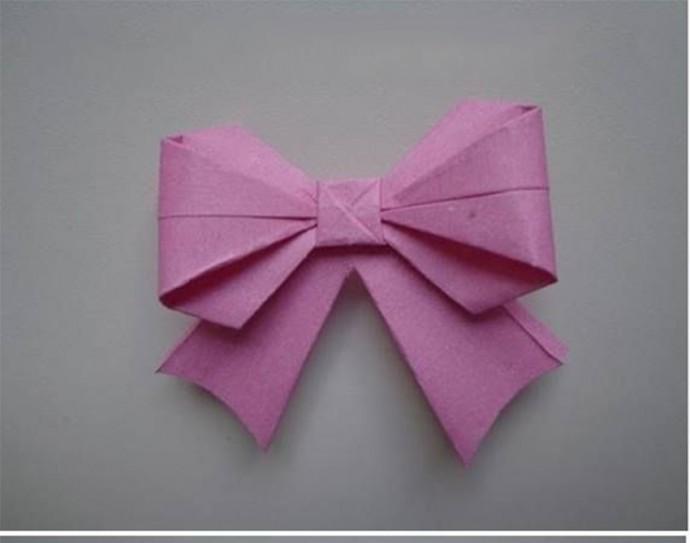 Бант в технике оригами