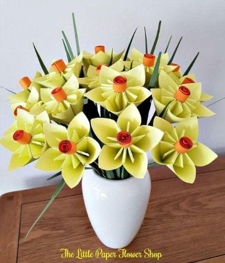Модульное оригами цветы