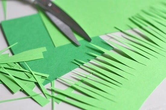 Объёмные колокольчики из цветной бумаги