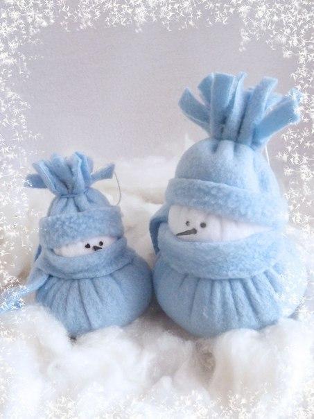 Мягкая игрушка: снеговик