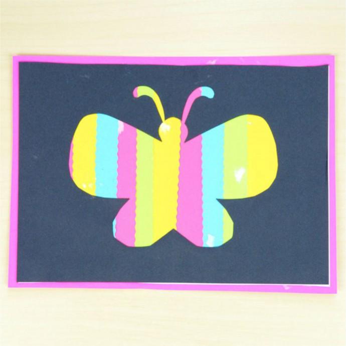 Делаем необычных бабочек