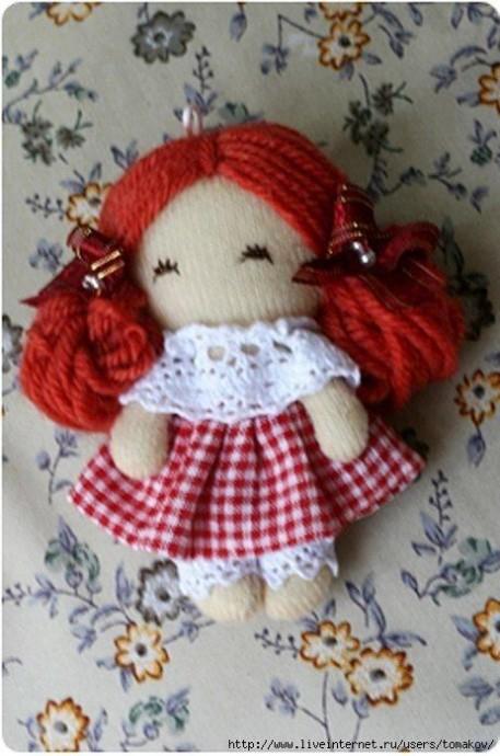 Очаровательные куклы, которые шьются элементарно