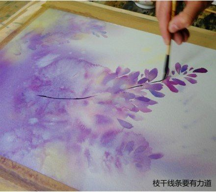Урок рисования: зарисовка акварелью